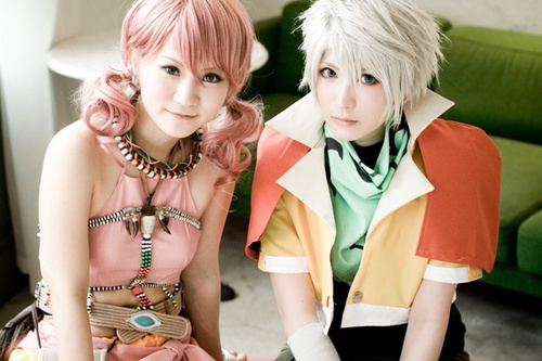 Vanille e Hope do FF XIII